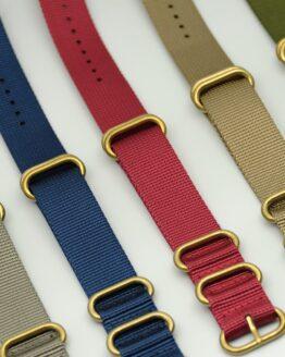 ZULU straps (bronze)